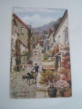 A R QUINTON Postcard 932 HIGH STREET, CLOVELLY     §A2283