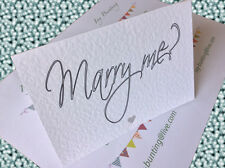 Will You  MARRY ME card and envelope - Share the Journey - Free p+p