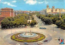 BT14081 Fuente de Neptuno y paseo del prado car voiture bus Madrid         Spain