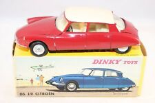 Dinky Toys 530 Citroen DS 19 2 tone red cream very near mint in box SUPERB