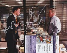 Matt Damon + Martin Sheen Dual Signed 8x10 Photo w/ JSA COA #R73798 The Departed