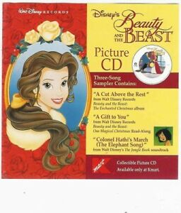Disney Beauty and the Beast picture New Sealed