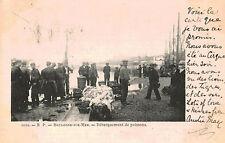 Boulogne-sur-Mer,France,Debarquement de Poissons,Used,1903