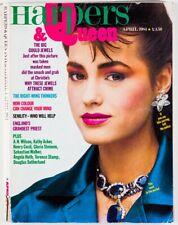 YASMIN LE BON Gloria Steinem TERENCE STAMP  Harpers & Queen magazine