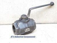 "Hycon  ball valve  1500 psi   KHM 1 1/2"" NPT 133  1-1/2"" NPT"