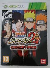 Naruto Shippuden Ultimate Ninja Storm 2 collector Edition xbox 360 ITALIANO ita