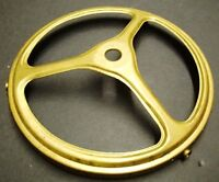 """4"""" STAMPED BRASS GAS SHADE HOLDER for REPAIR REFERBISH FIXTURE PART"""