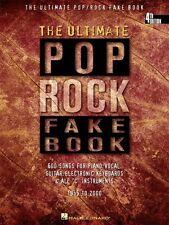 The Ultimate Pop Rock Fake Book 4th Edition Sheet Music C Edition Real 000240099