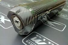 Suzuki Gsxr 600 K1 K2 K3 K4 K5 Fibra De Carbono Tri Oval Carbono salida de escape puede