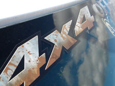 4x4 Off - Road -MUD SPLASHED STEEL- windshield banner tailgate bed  body decal