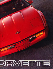 1985 Chevrolet Chevy Corvette Sales Brochure