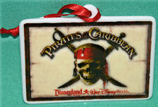 DISNEY PIRATES CARIBBEAN CHRISTMAS ORNAMENT NEW DISNEY COLLECTIBLE YO HO HO HO