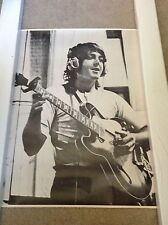 PAUL Mc CARTNEY glossy black & white poster VINTAGE