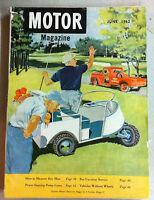 June 1962 Motor Magazine Volume 117 Number 6