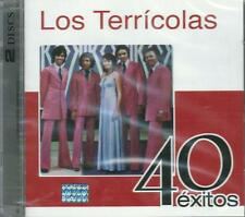 2 CD's Combo - Los Terricolas CD NEW 40 Exitos BOX SET Con 2 CD's 40 Canciones !