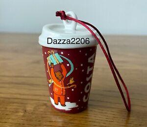 COSTA COFFEE 2020 BROWN BEAR CHRISTMAS TREE DECORATION/ORNAMENT. BRAND NEW.