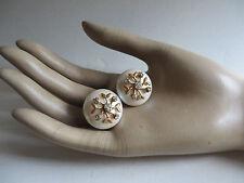"""Particulières """"Miriam Haskell"""" sign. Découpage-Faux Perle-métal-strass - 60er Ans-États-Unis"""