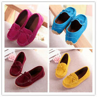 Kids Girls Shoes Loafers Casual Ankle Boots Flat Shallow Velvet Christmas Shoes
