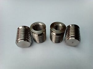 Thread Reducer / Thread Repair Inserts A4 Stainless Steel Blind Ended 5 Pack