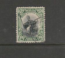Malta 1930 Postage & Revenue 1/6 FU SG 204
