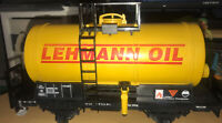 Rare LGB LEHMANN Oil Tanker Car - Made In GERMANY - G SCALE - Nice Condition
