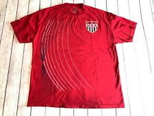 Vintage Usa Soccer Team Red Simply For Sports T-shirt Size L