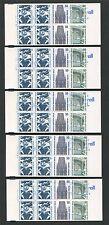 BERLIN MARKENHEFTCHEN MH 14 ** SWK 1989 5 x postfrisch Mi 140.- m413
