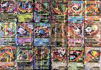 30 Pokemon Cards Bulk Lot - Guaranteed 1 MEGA EX Ultra Rare +3 Rare & Holo Cards