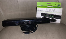 Microsoft Xbox 360 Kinect Sensor Bar Model 1414- Black & Nyko Zoom Bundle