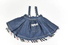 "BURBERRY ""Children"": Blue Denim & ""Nova Check"" Overall Skirt Sz: 4Y/104cm"