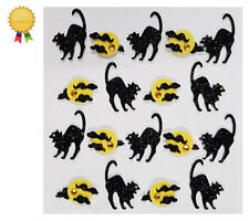 Jolees Boutique ARCHING CAT REPEATS 3D Stickers - Halloween Full Moon Scary