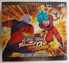 DRAGON BALL SUPER DISPLAY JCC CARD GAME THE TOURNAMENT OF POWER TB01 FRANCAIS