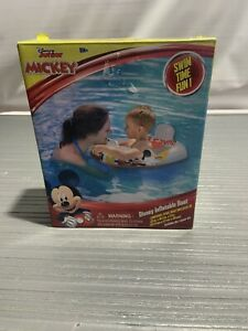 "Disney Junior Mickey Inflatable Boat 18M+ Swim Time Fun! 25"" X 18.5"" X 11"" Inch"