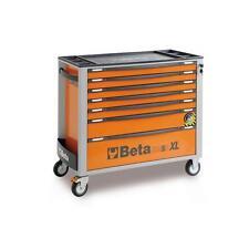 Beta C24SA-XL/7 7 Drawer Extra Long Roller Cabinet With Anti-Tilt System ORANGE