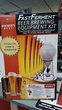 FermFast Conical Fermenter Wall Mountable Beer Making Equipment Kit Home Brewing