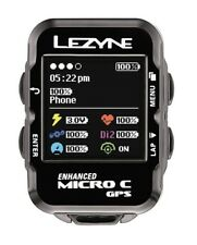 Lezyne Micro C GPS Cycling Computer || Bundle with HR Monitor