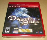 Demon's Souls (Sony PlayStation 3) Brand New / Fast Shipping