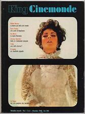 KING CINEMONDE 6/1968 celentano pascale petit LUIS bunuel + POSTER edwige fenech