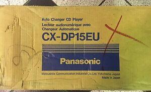 Panasonic CX-DP15EU 12-Disc CD Changer NEW OLD SCHOOL RARE!!!!