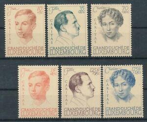 317270) Luxemburg Nr.333-8** Caritas