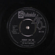 ISLEY BROTHERS: Nobody But Me / I'm Laughing To Keep From Crying 45 (UK) Soul