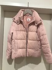 NWOT Country Road Pink Girls Puffer Puffa Jacket Coat Size 12