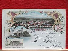 Farblitho - Amstetten - NÖ - gel. 1898 - Schwidernochkarte - Sammlerstück !