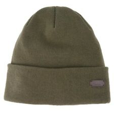 Barbour Men's Swinton Knitted Beanie Hat Olive Green One Size