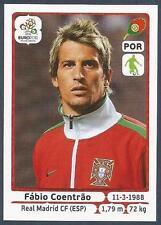 PANINI EURO 2012- #262-PORTUGAL-REAL MADRID-FABIO COENTRAO