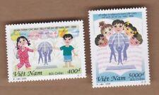 2000 Vietnam 10th Anniv Un Convention on Childrens Rights set 2 Sg 2349/50 Muh