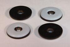 40 Stück Teflongleiter Ø 19 mm mit Schraube rund PTFE-Gleiter Möbelgleiter