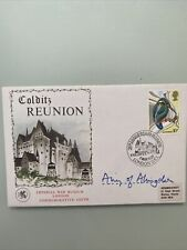 More details for  colditz reunion imperial war museum cover sign ww2 prisoner airey neaves wife