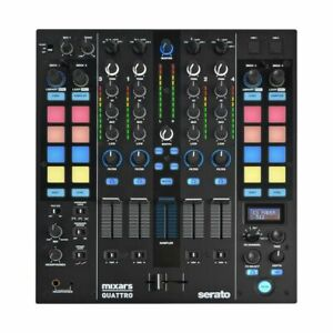 MIXARS QUATTRO USB DJ MIXER A 4 CANALI PER SERATO DJ NUOVO GARANZIA ITA 2 ANNI