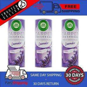 AirWick Carpet Freshener Lavender Fragrance 350g Home Office Bathroom Kitchen x3